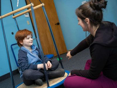 exercise employed during pediatric speech therapy